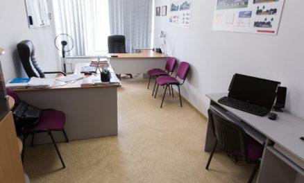 ремонт офисов административной части торгового центра караван