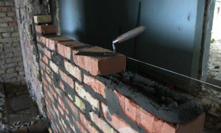 кладка стен из кирпича