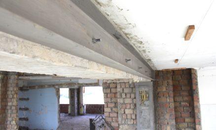 Усиление кирпичных стен, каменных и кирпичных конструкций