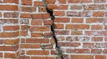 Трещины в стене: ремонт и их устранения