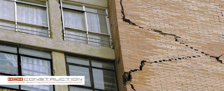 Трещины в стене и методы их устранения