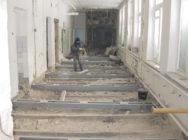 Ремонт підлоги в нежитловому приміщенні