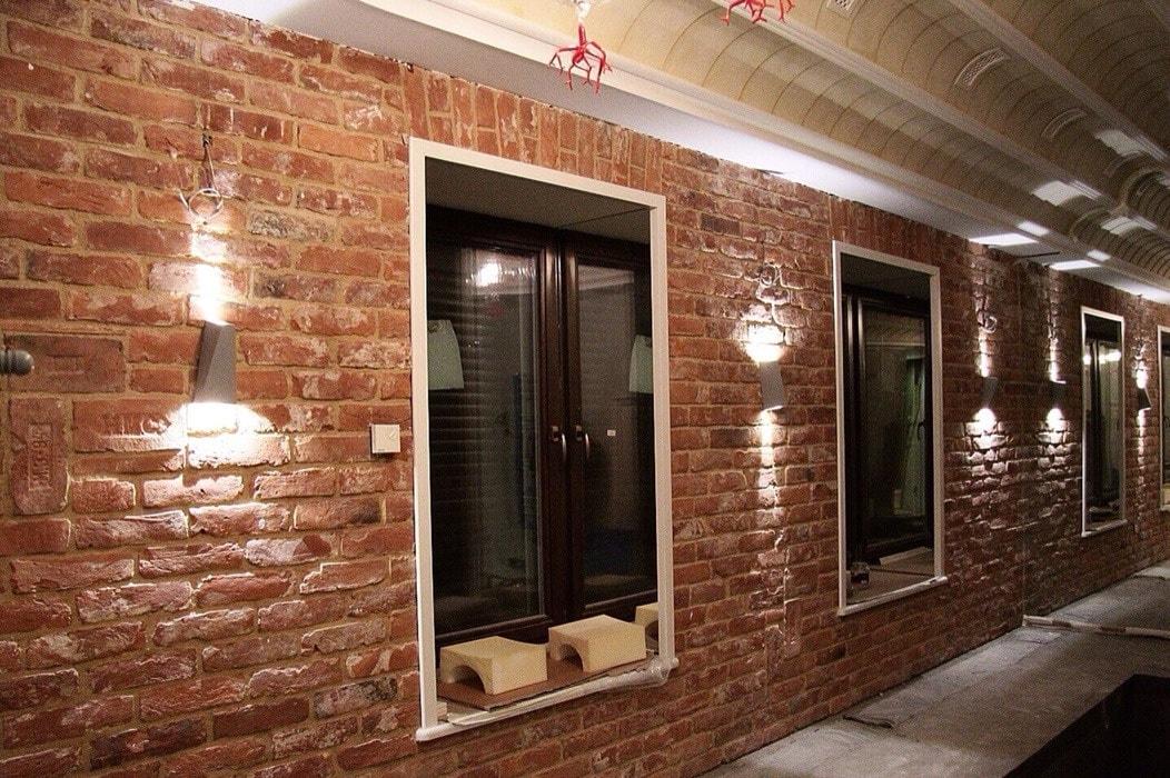 ремонт кирпичной кладки стены