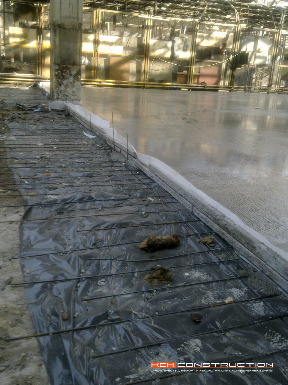 Устройство монолитного бетонного фундамента