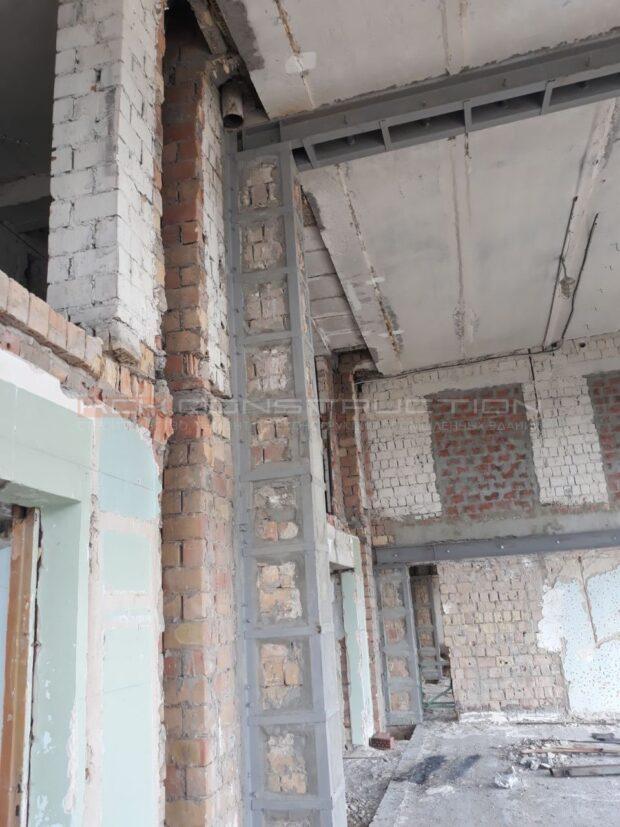 усиление конструкций здания