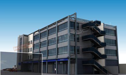 проект административно-складского комплекса