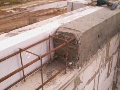 бетонування підпірних стіну
