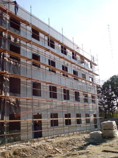 Строительство административного здания