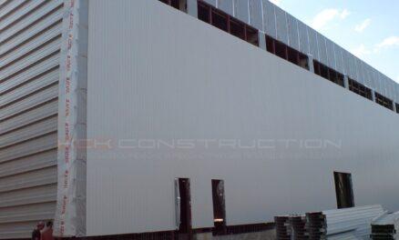 Строительство склада в Броварах