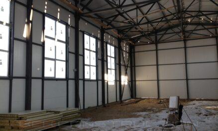 строительство спортивного зала