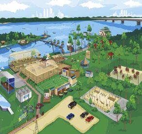Генеральный план «Парк Дружбы Народов»