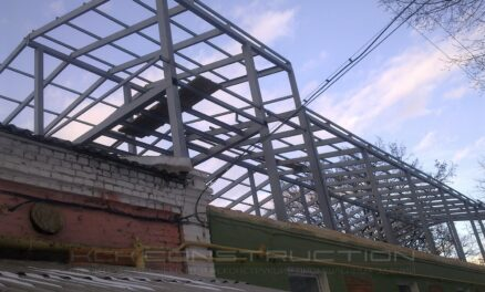 реконструкция фармацевтического здания