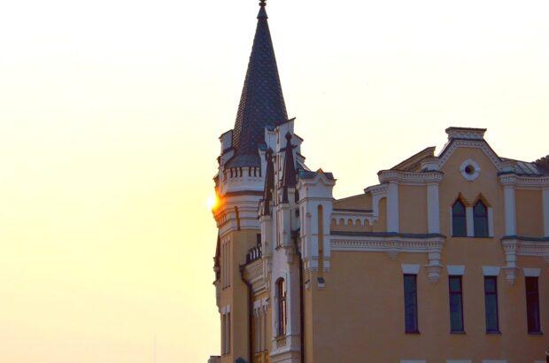 Старые исторические фасады