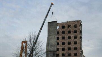 Демонтаж висотних будівель